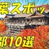 【京都】2017年 紅葉スポット おすすめ 10選