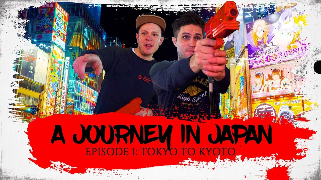 A JOURNEY IN JAPAN | One Month Backpacking Adventure | Ep1: Tokyo to Kyoto