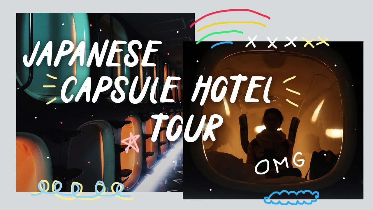 Japan Travel Vlog 8: Capsule Hotel in Kyoto (9h ninehours tour) | Rainbowholic 🇯🇵