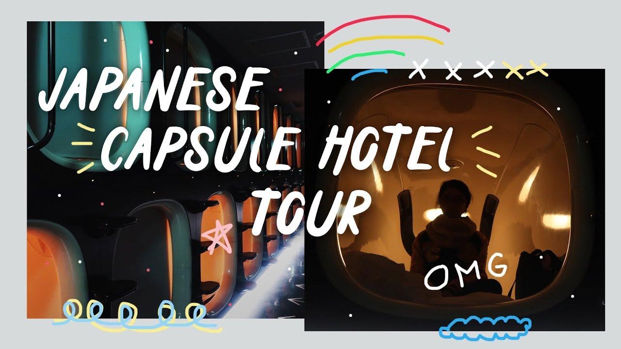 Japan Travel Vlog 8: Capsule Hotel in Kyoto (9h ninehours tour)   Rainbowholic 🇯🇵