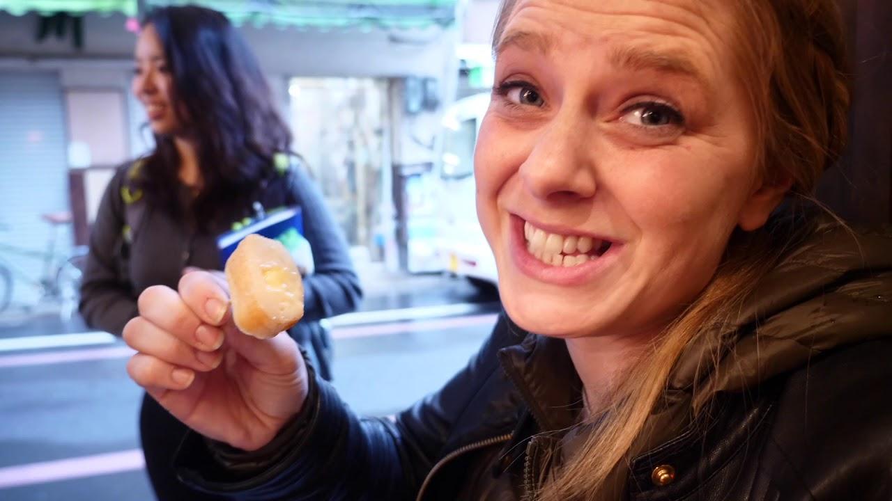 ℰℯʟ?! ℱḯṧ♄ ☾@ḱℯ!? 🎏Kyoto Food Market Tour!