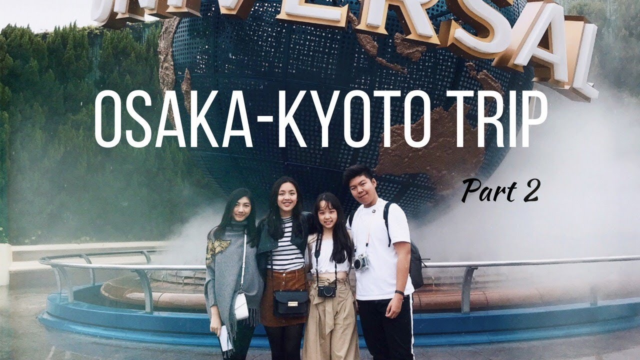 Travel Diary: Osaka & Kyoto PART 2 | Laurensia Shinna