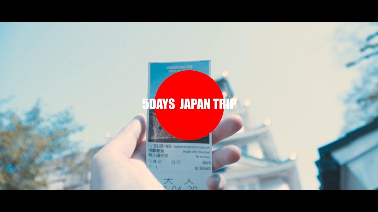 #1 5days trip to Japan( Osaka – Kyoto – Nara )