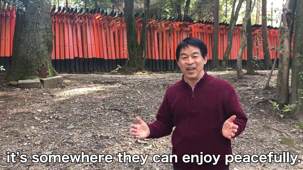 Interview with Fushimi Inari Shrine Tour Guide, Koutarou Hamada