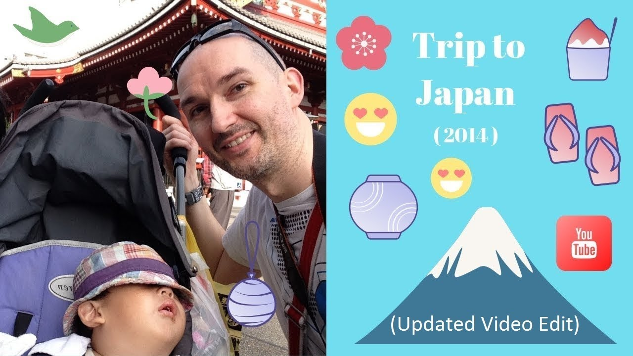 Japan Trip to Tokyo and Kyoto (2014 – Edited)