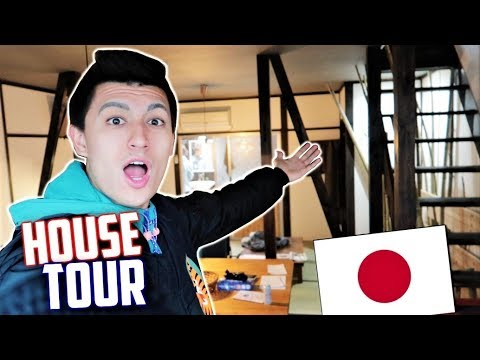 KYOTO Airbnb HOUSE TOUR! + Japanese Grocery Shopping!