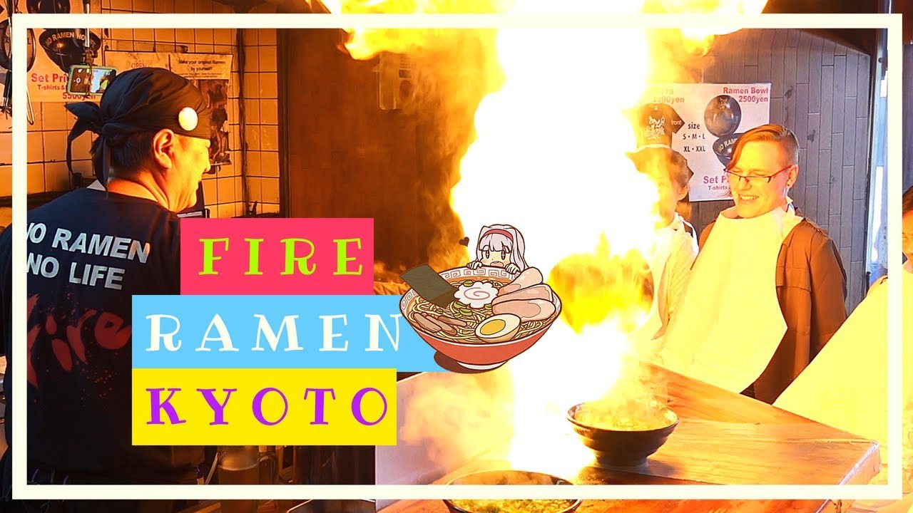 KYOTO CRAZY FIRE RAMEN (YOU MUST TRY) & Bamboo Forest Guide | Japan Travel Vlog