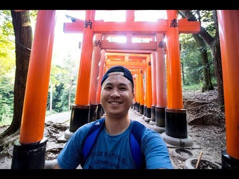 one day visit with bicycle in kyoto!