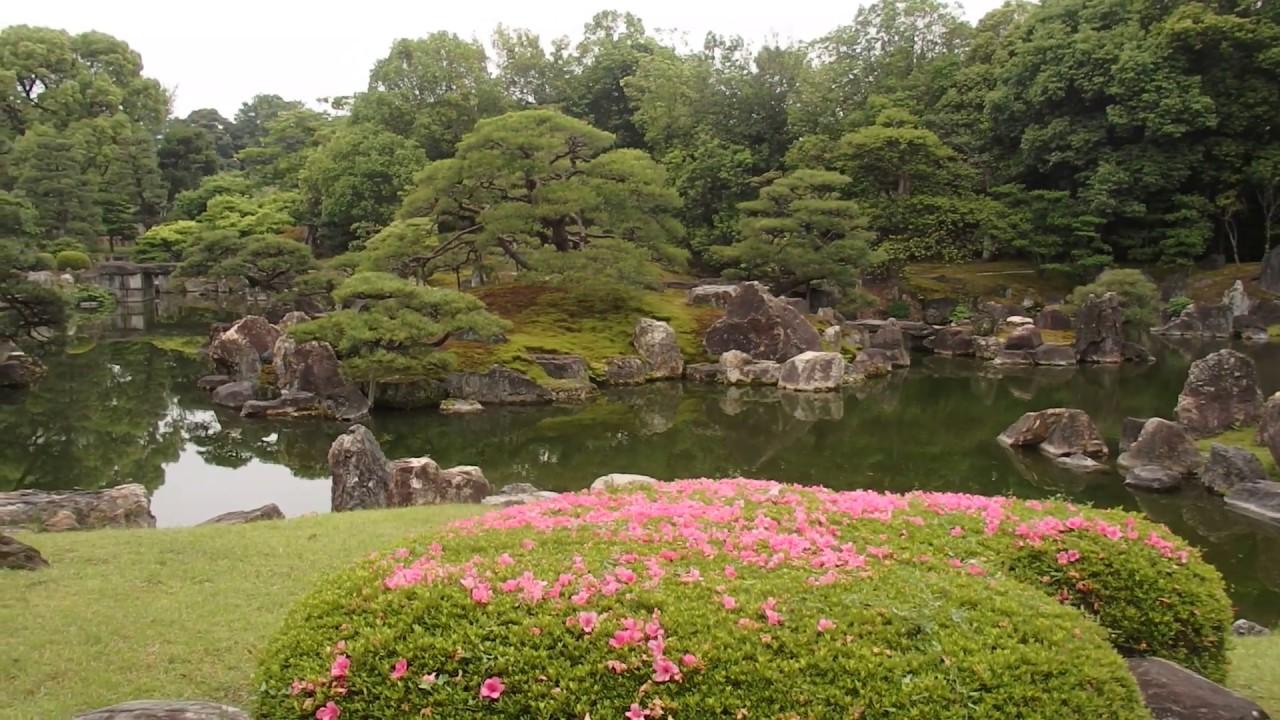 The Ninomaru Gardens of Nijo-ji Castle in Kyoto