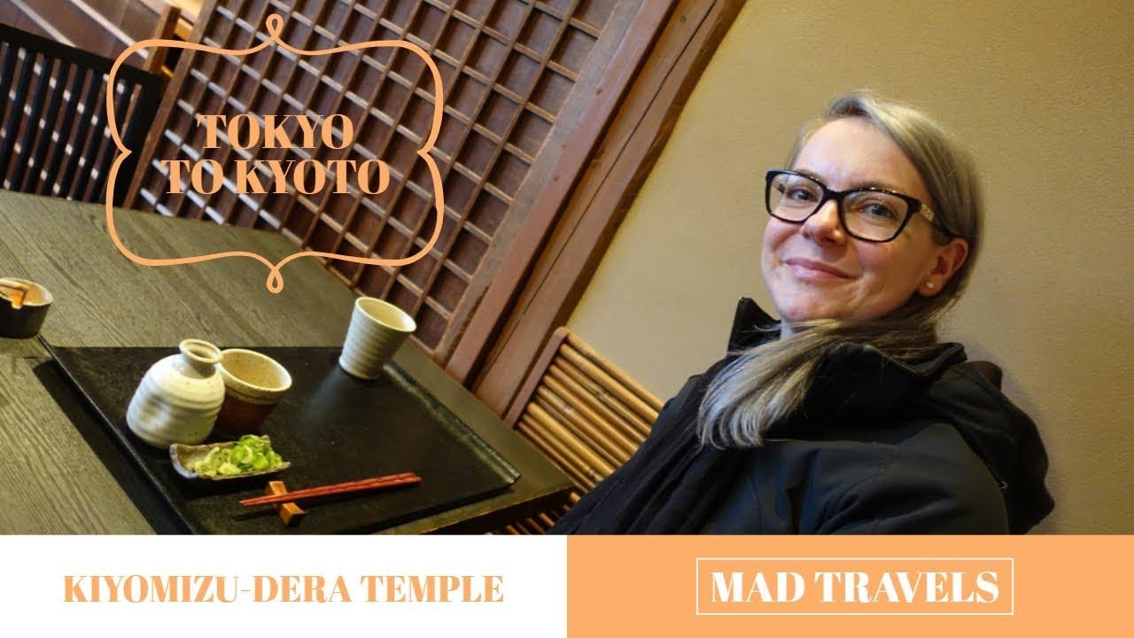 Tokyo to Kyoto + Kiyomizu-dera Temple | JAPAN TRAVEL VLOG 2018 (Day 4)