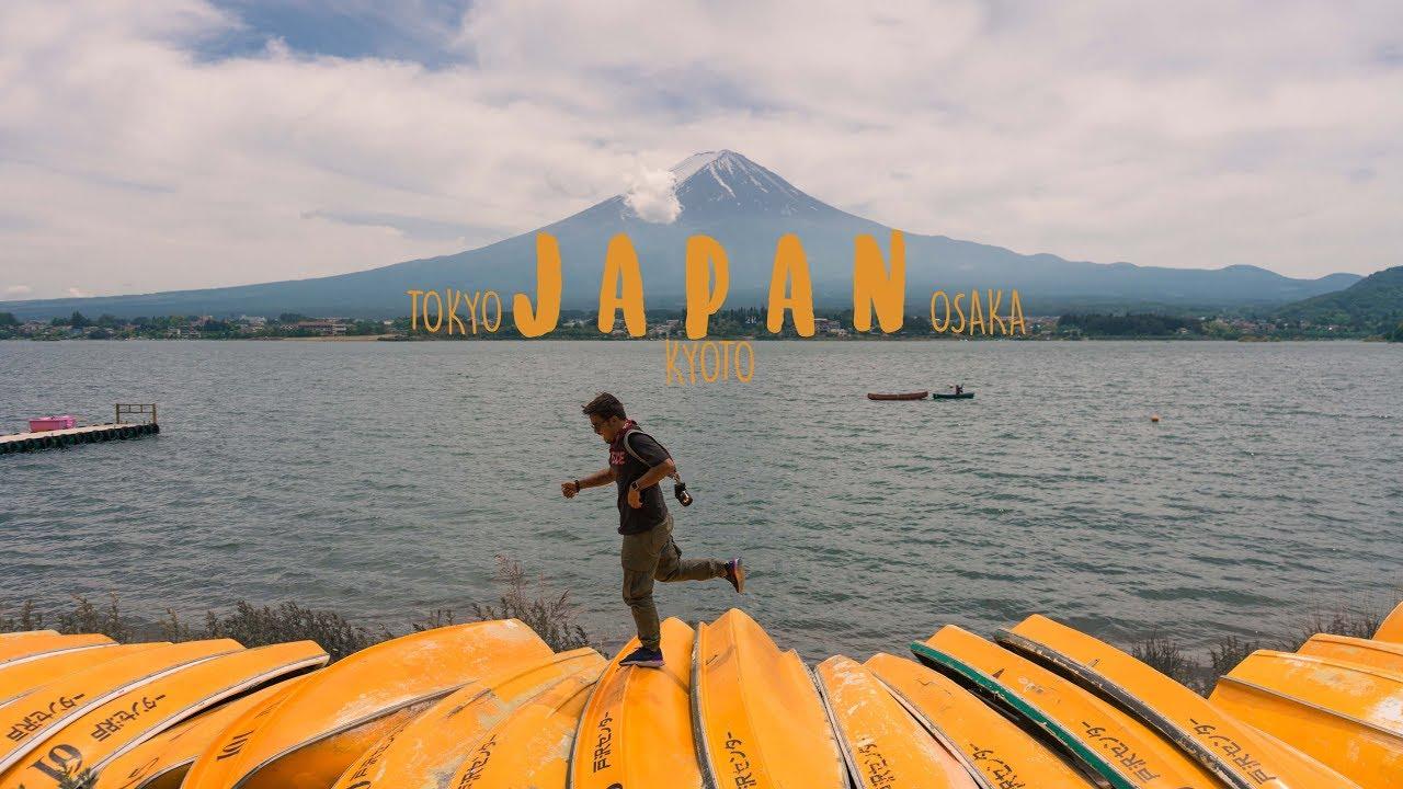 7 DAYS TRAVELING IN JAPAN (TOKYO,OSAKA,KYOTO) 2018