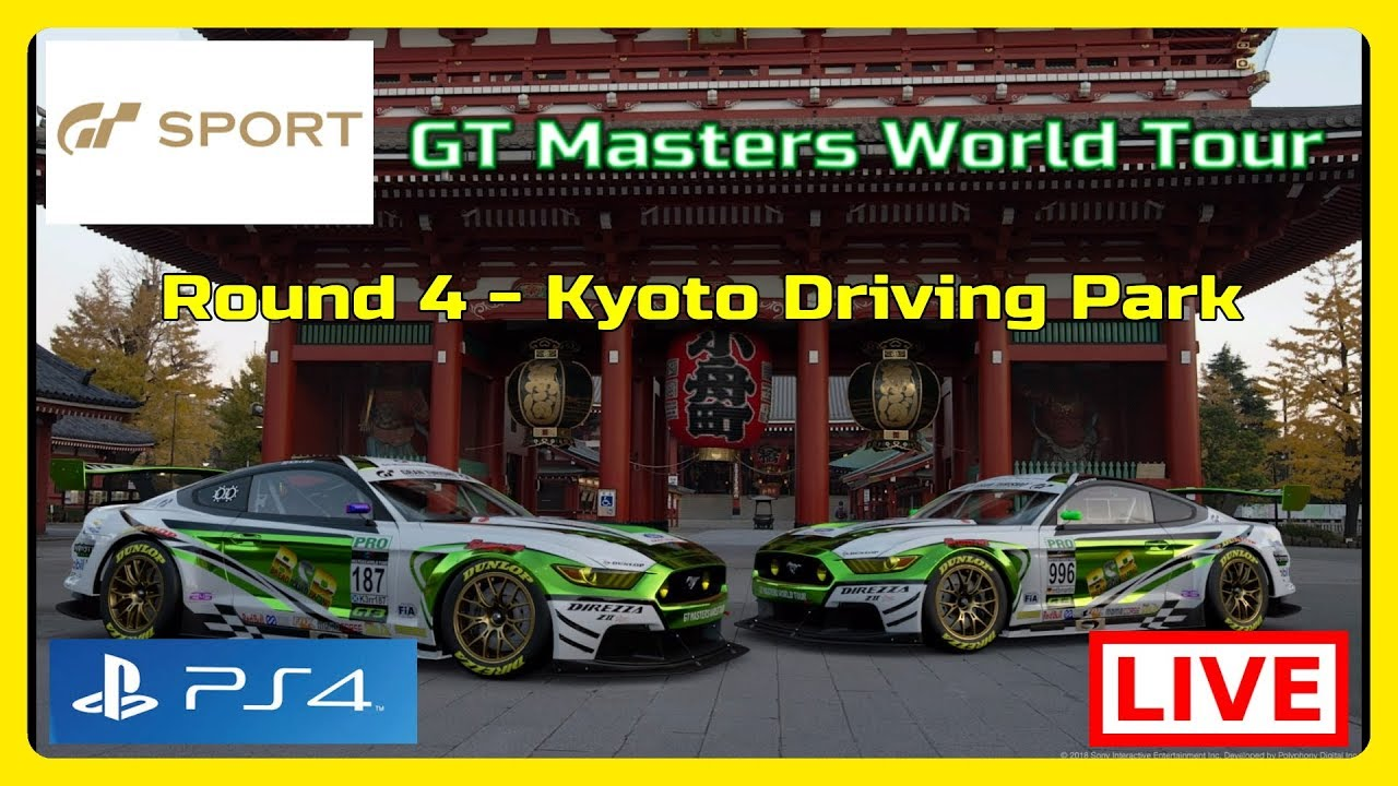 GT Sport – GT Master World Tour GT3  Liga A – Round 4 Kyoto Driving Park