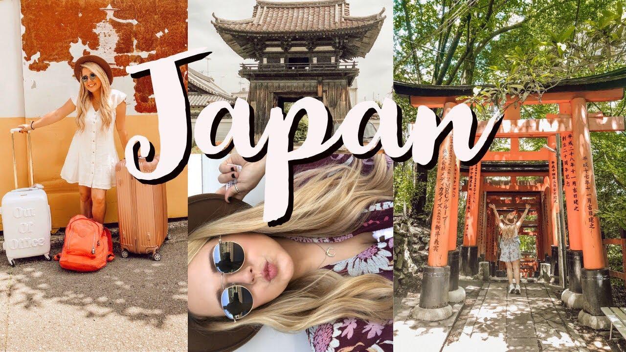 JAPAN TRAVEL VLOG: Osaka & Kyoto + 2 Airbnb tours