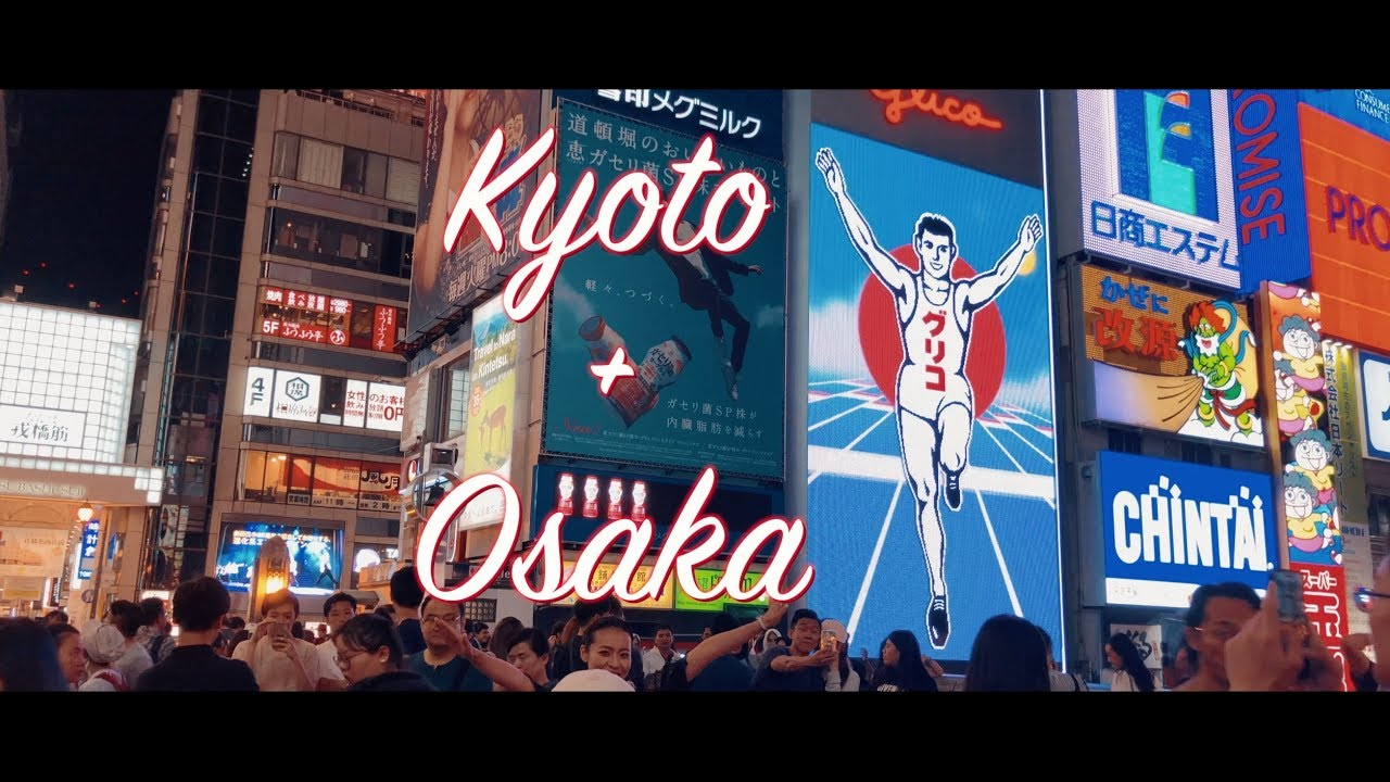 Kyoto and Osaka in Summer | Travel Video Shot on Osmo Mobile + iPhone X