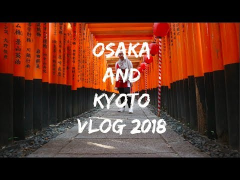 OSAKA AND KYOTO | TRAVEL VLOG 2018