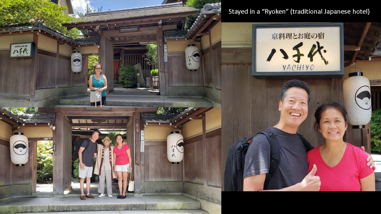 Sam and Shirley Asia Trip 2018 – Episode 6 – Kyoto