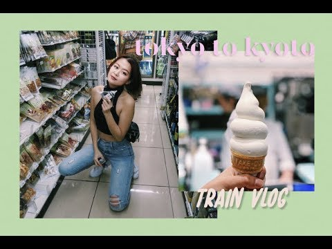 TRAVEL VLOG • Tokyo to Kyoto   🚅Bullet Train Diary   wendy in the wild