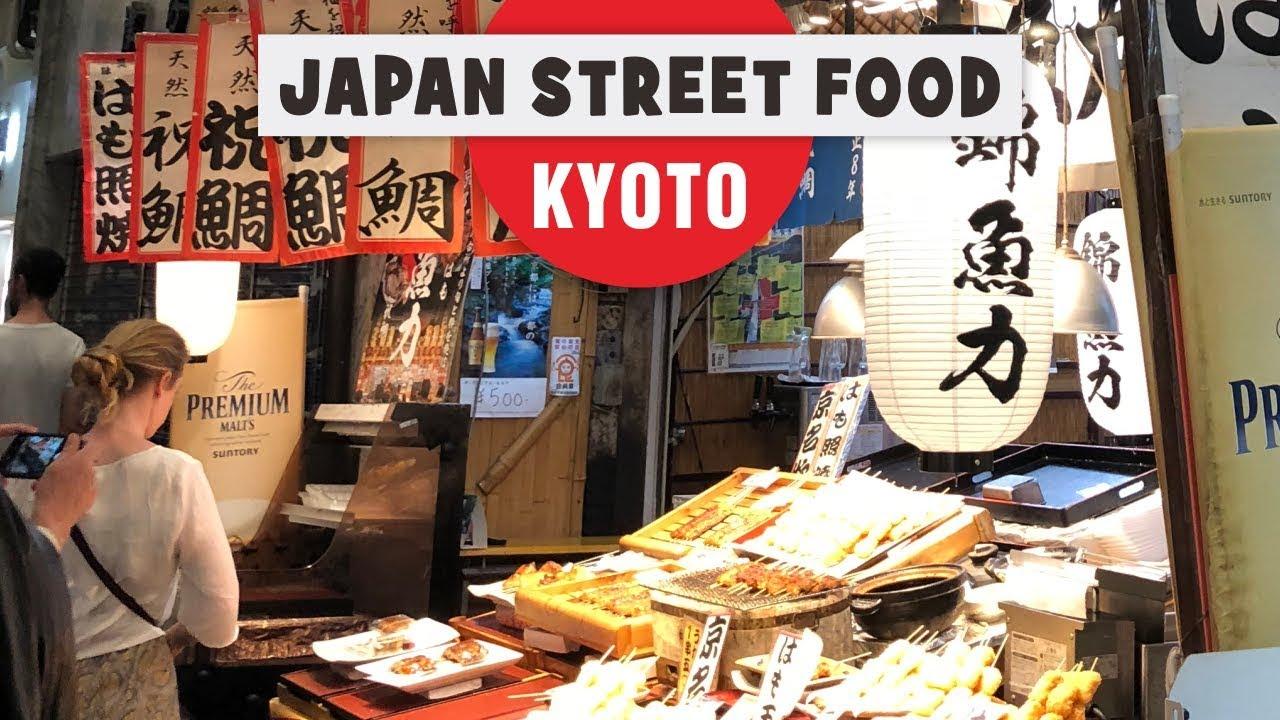 Japanese Street Food in Kyoto – Nishiki Ichiba Market Guide
