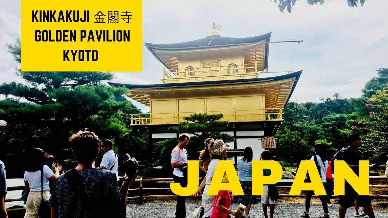 Kinkakuji 金閣寺 Golden Pavilion Temple Kyoto | Japan Things To Do