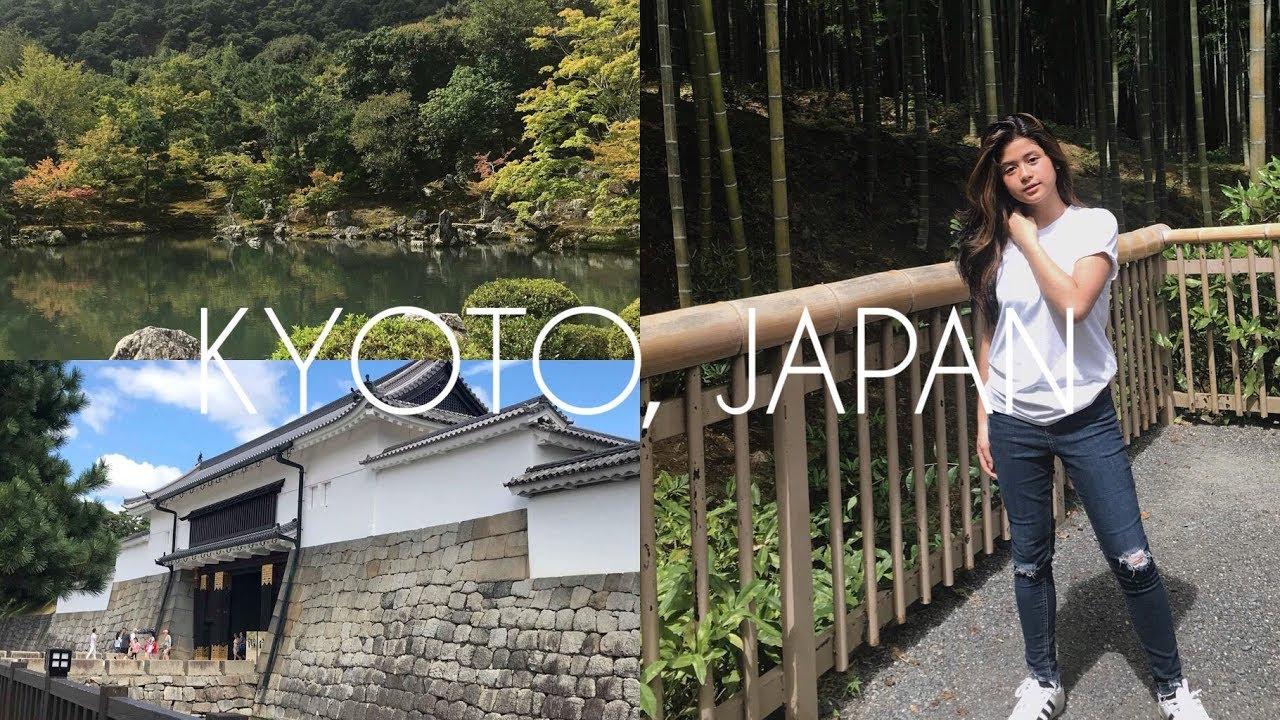 Kyoto, Japan Vlog #3 (Arashiyama, Nijo Castle)