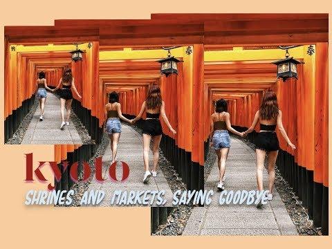 TRAVEL VLOG • Kyoto Day 2 | Fushimi Inari ⛩️and Nishiki Market | wendy in the wild