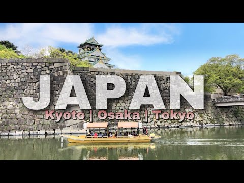TRAVELING TO JAPAN: KYOTO OSAKA TOKYO (VLOGGING WITH IPHONE X)
