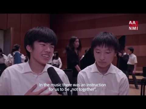 AANMI Japan 2018 Tour – Kyoto Horikawa Music High School