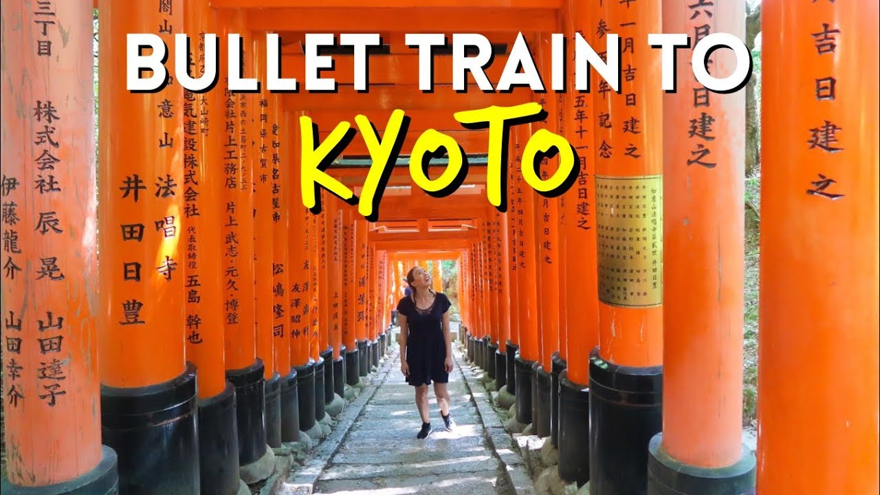 Bullet Train To Kyoto⛩️ | MirandaTheAdventurer