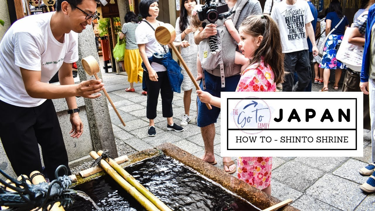 Family Travel Vlog: How To Shinto shrine at the Nishiki Market in Kyoto, Japan