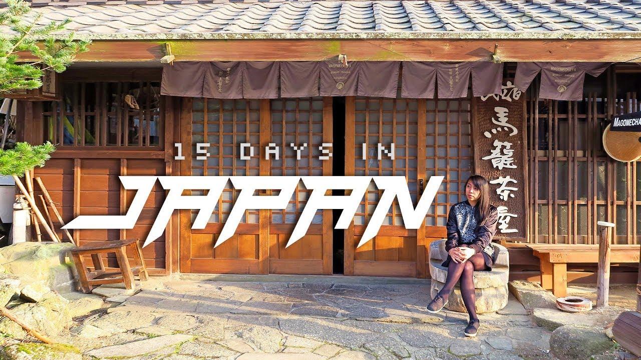 Japan in 15 Days: 🇯🇵(Itinerary Highlights) Exploring Tokyo, Kyoto, Osaka, and More!