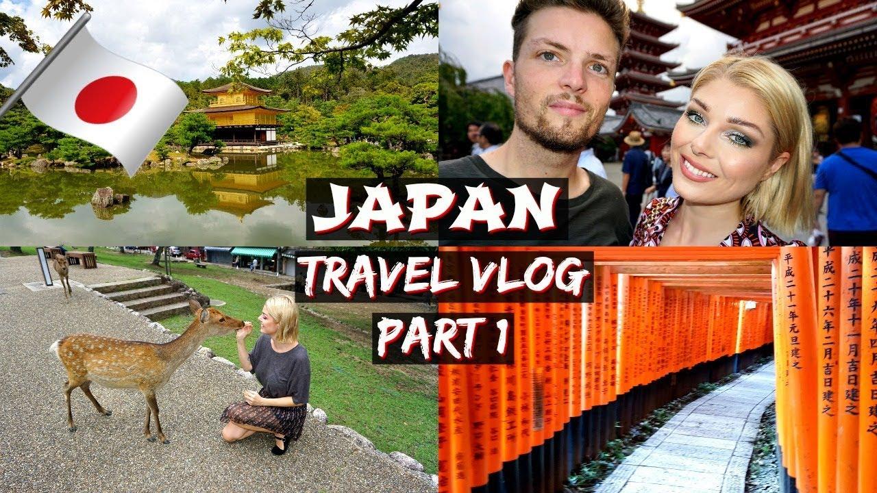 Japan Travel Vlog Part 1 | Kyoto & Nara