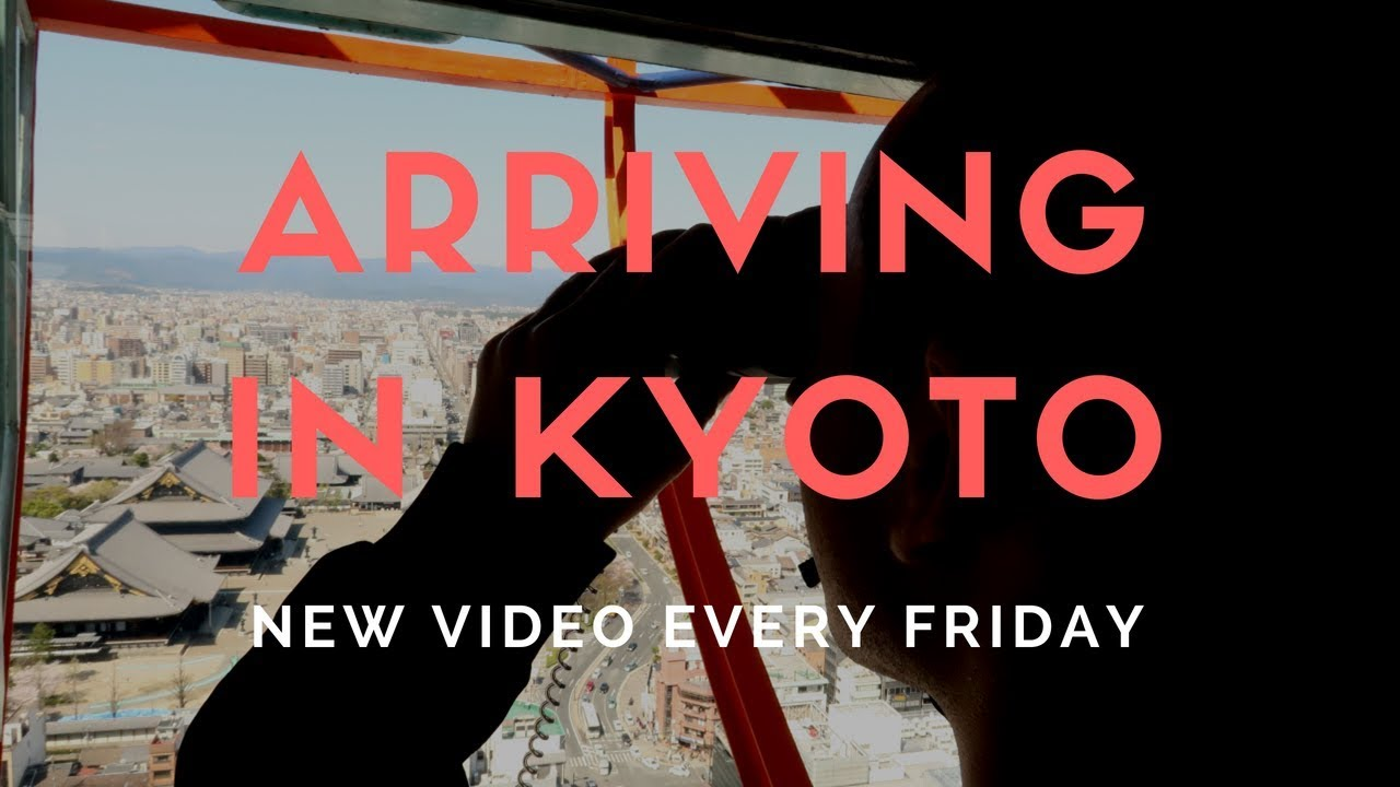 Japan Vlog – Day 7 – Arriving in Kyoto, Kyoto Tower, Kyoto Air BnB