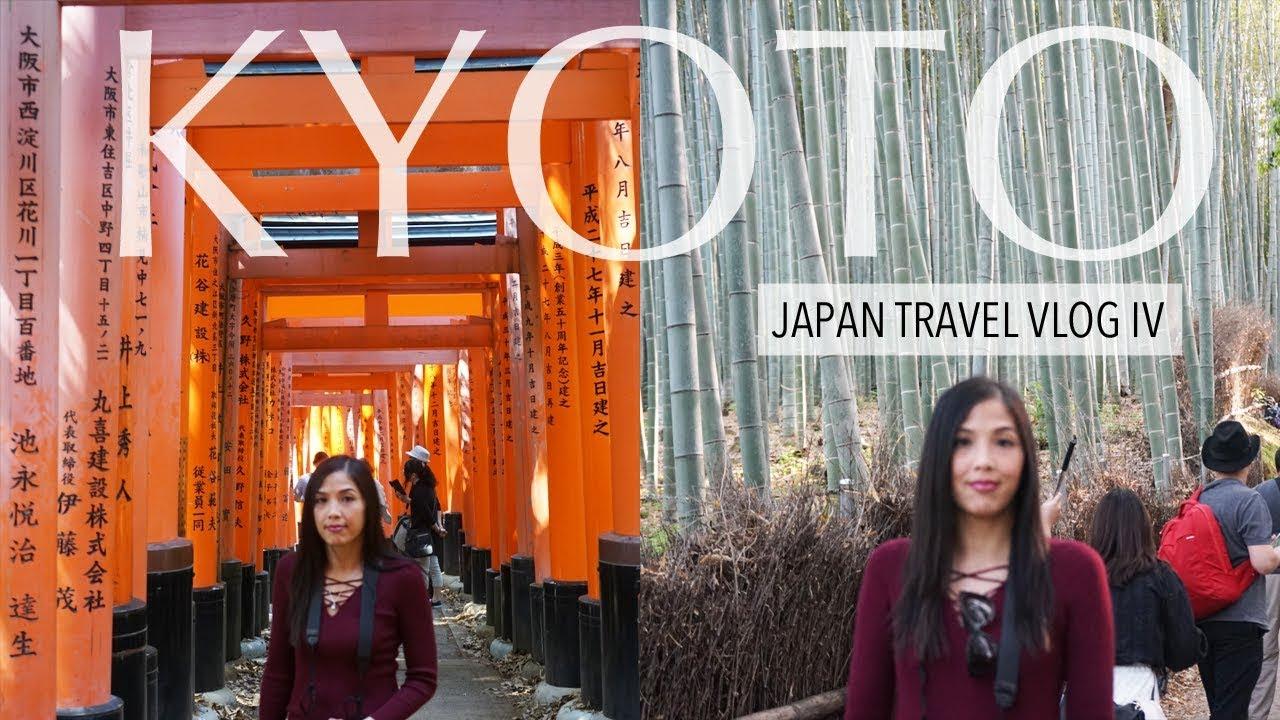 TRAVEL VLOG | Visiting Kyoto + Hiking + Last Day