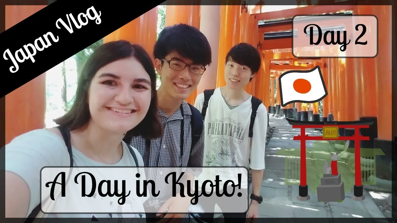 Airbnb Tour + Spending the Day in Kyoto   SUMMER 2018 IN JAPAN [Day 2] 🇯🇵