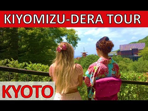 BEST OF KYOTO JAPAN – Kiyomizudera Temple – Kyoto Walking Tour 音羽山清水寺