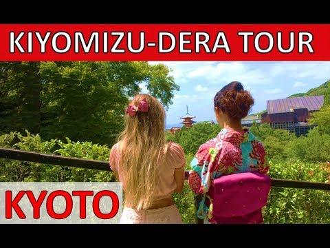 BEST OF KYOTO JAPAN – Kiyomizudera Temple – Kyoto Walking Tour 音羽山清水寺