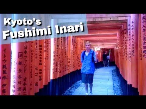 Exploring Kyoto's Fushimi Inari Shrine | YEESHIH [East Asia Tour Extras Vlog #4]