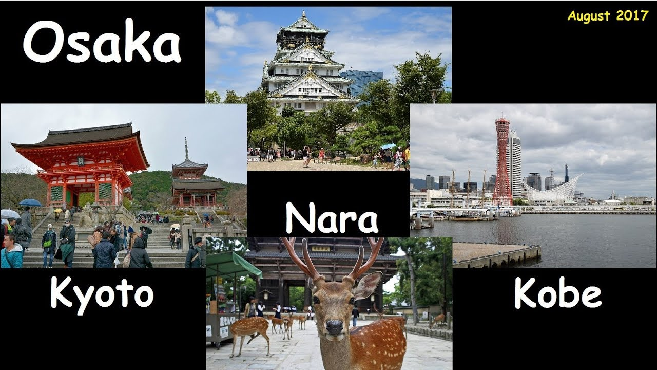 Japan Travel: Visit to Osaka, Kyoto, Kobe, Nara.