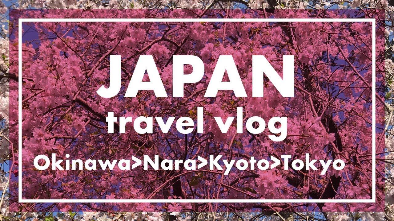Japan Travel Vlog [Okinawa, Nara, Kyoto, Tokyo]