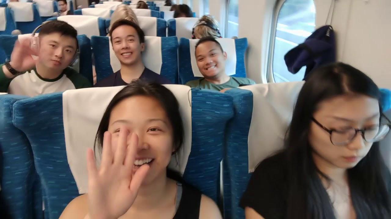 JAPAN TRIP 2018| VLOG #5: Tokyo to Kyoto; Tuna Sashimi, Bullet Train, and Fushimi Inari at Night