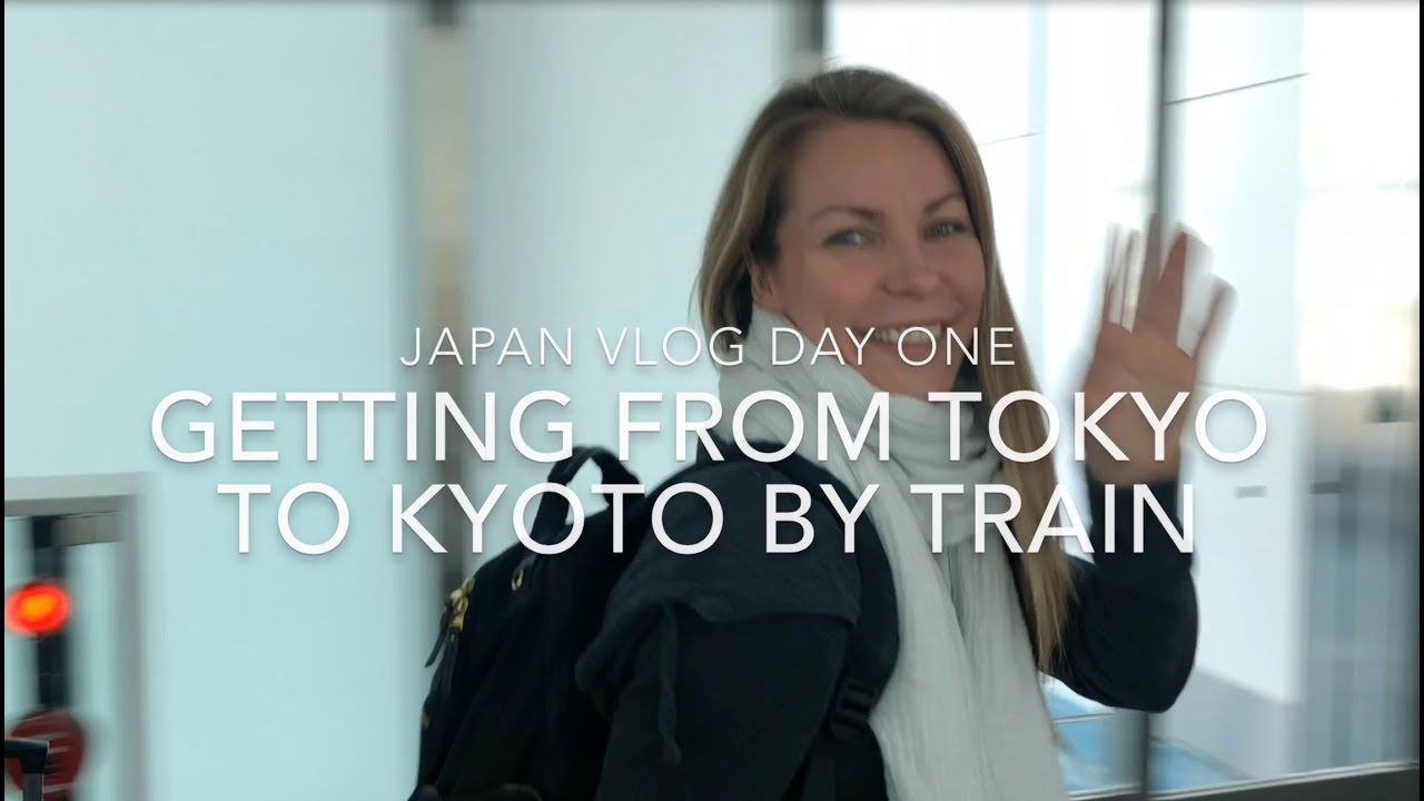 Japan Vlog Day 1: Getting from Tokyo Haneda Airport to Kyoto on the Tōkaidō Shinkansen Bullet Train