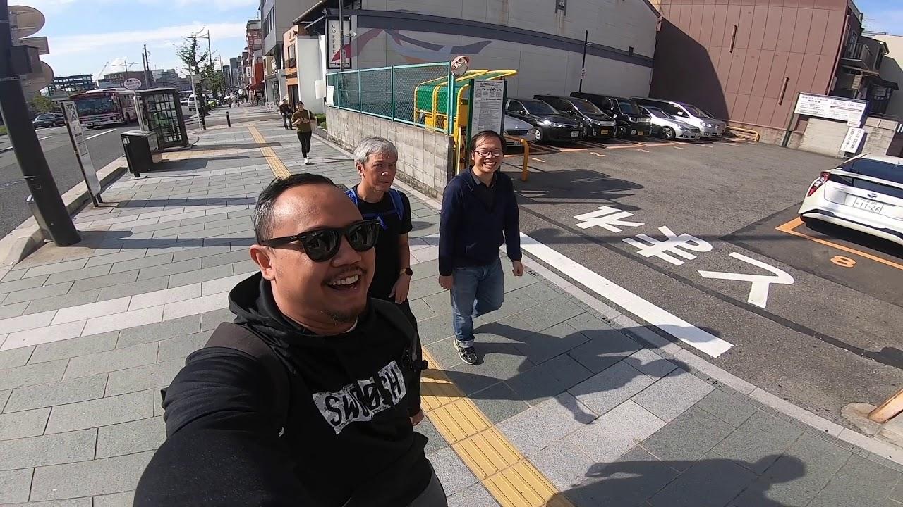 Kyoto Walk Tour  part 1