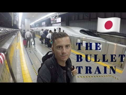 THE BULLET TRAIN – Tokyo To Kyoto | Travel Vlog #1 🇯🇵
