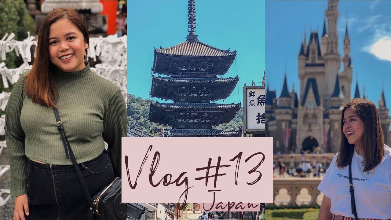 Vlog #13: Japan Travel Guide Vlog + TIPS (Kyoto and Osaka)   24th in Disneyland
