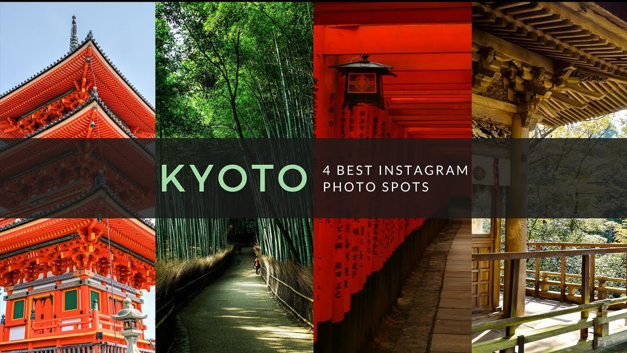 4 Best Instagram Photo Spots In Kyoto for 2 days!
