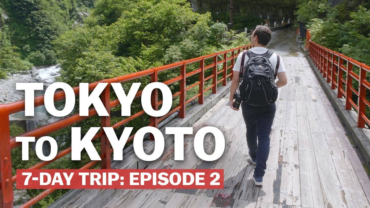7-Day Trip from Tokyo to Kyoto: Episode 2 | Japan's New Golden Route | japan-guide.com
