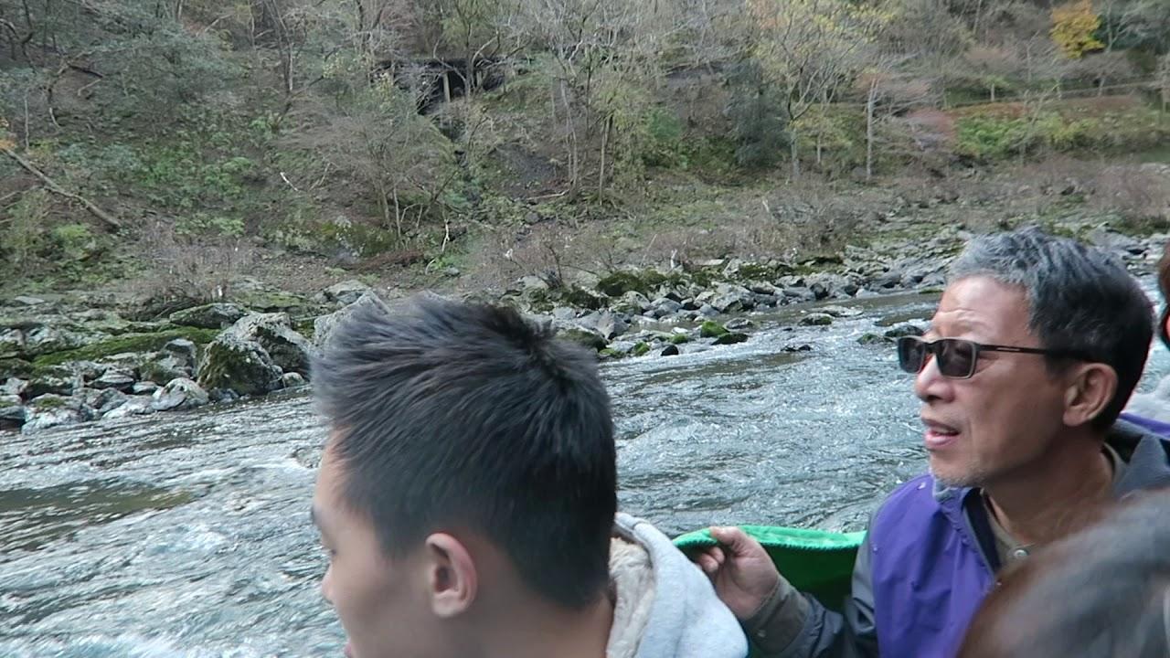 Arashiyama: Hozugawa boat ride 岚山:骑着马车去漂流 | Kyoto Travel Vlog