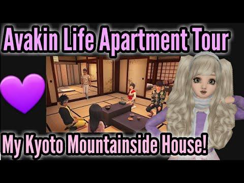 Avakin Life Apartment Tour   My Kyoto Mountainside House!
