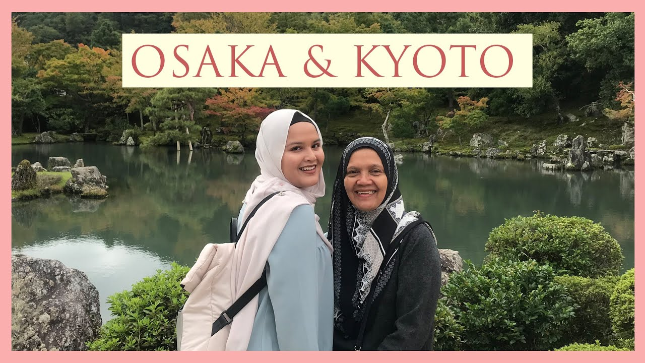 EXPLORING OSAKA & KYOTO IN AUTUMN // 2018