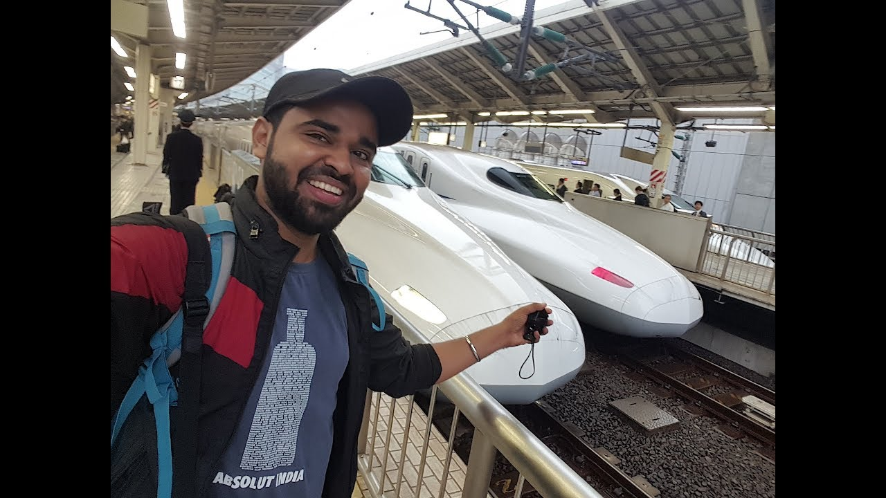 Japan Bullet Train Travel Experience l Tokyo to Kyoto – Vlog#5